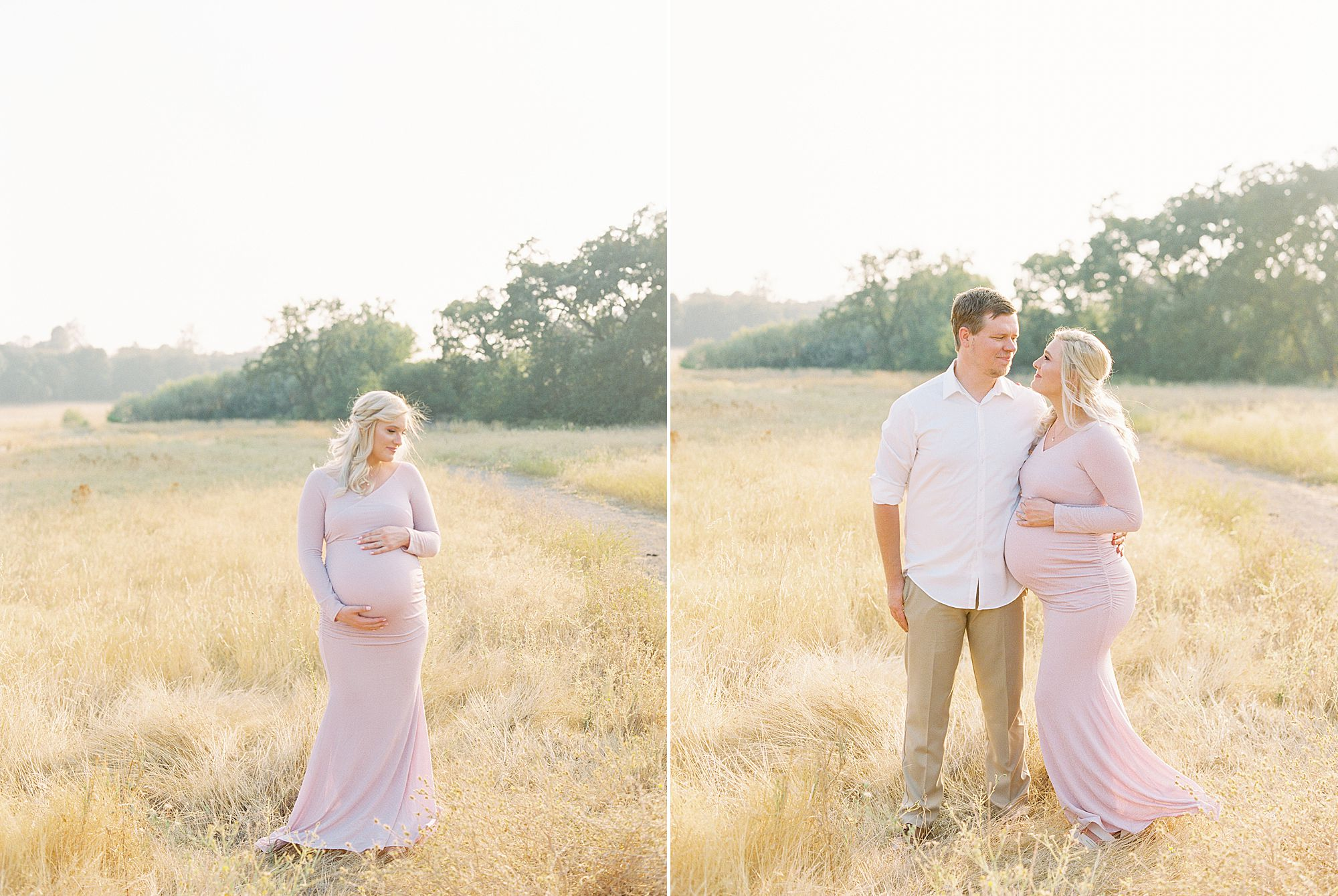 Golden Sacramento Maternity - Hannah and Connor - Ashley Baumgartner - Sacramento Maternity Photographer_0022.jpg