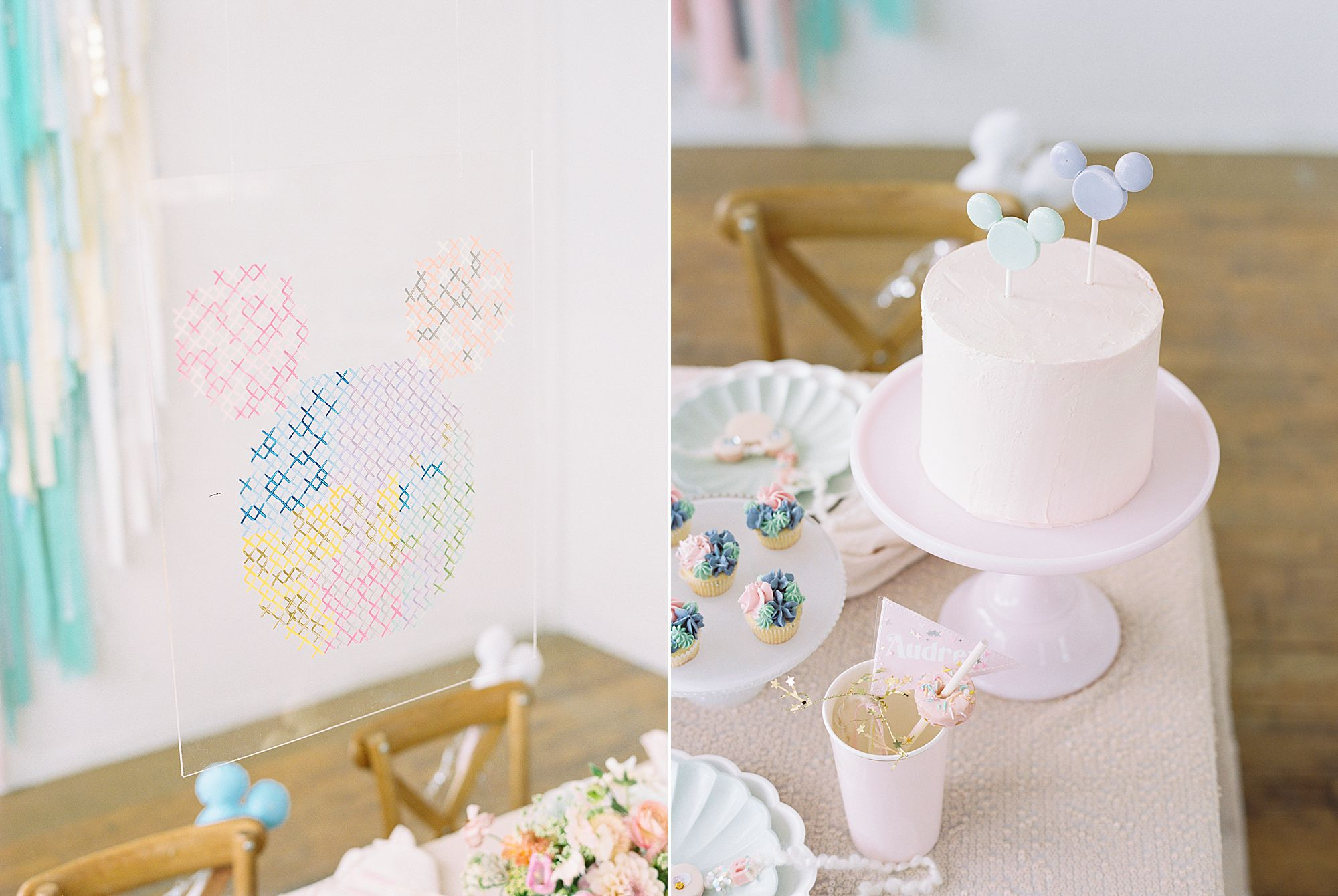 Vintage Disney Birthday Party for Princess Nora's Fourth Birthday - Featured on 100 Layer Cake - Ashley Baumgartner - Parker Grace Events_0014.jpg