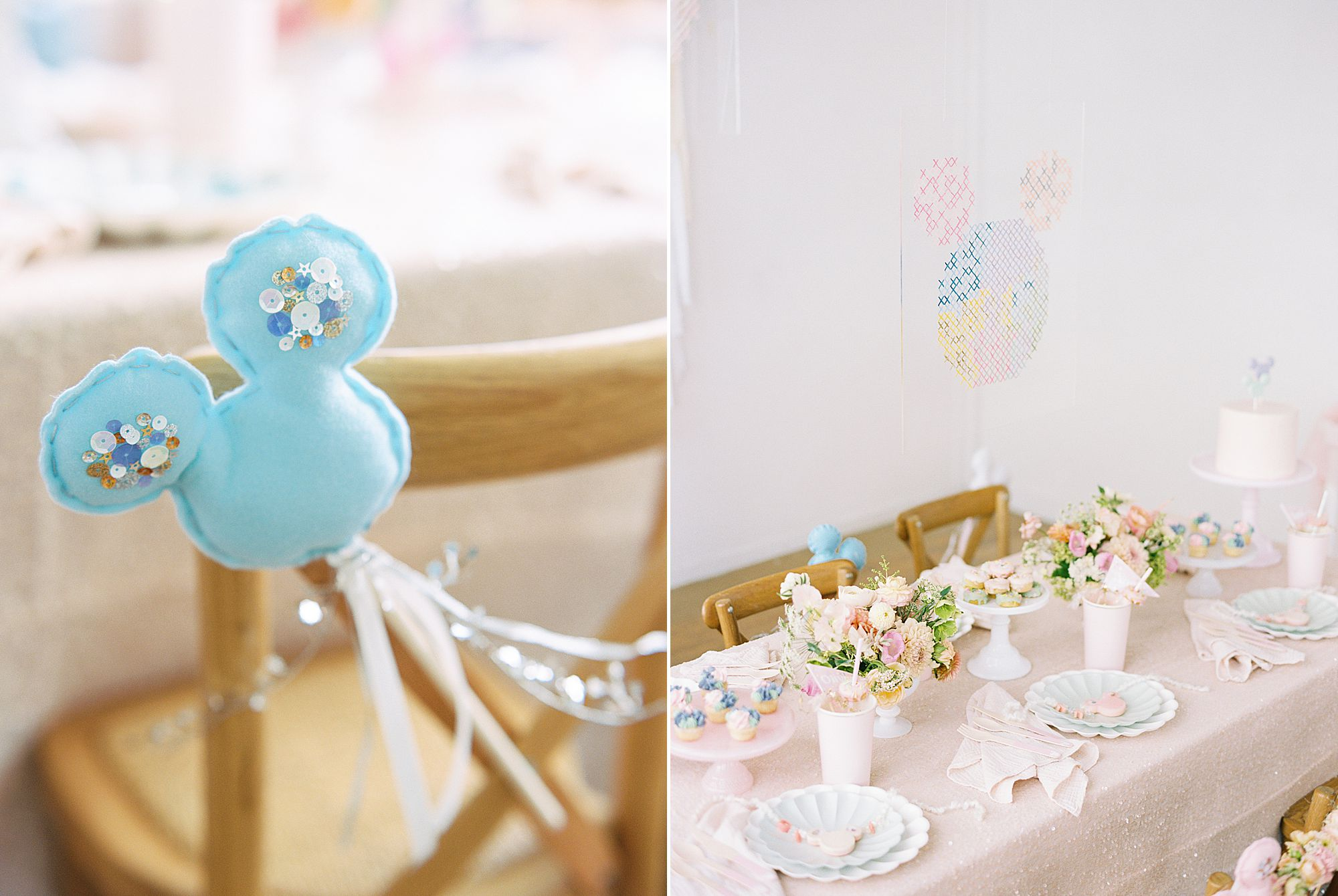 Vintage Disney Birthday Party for Princess Nora's Fourth Birthday - Featured on 100 Layer Cake - Ashley Baumgartner - Parker Grace Events_0016.jpg