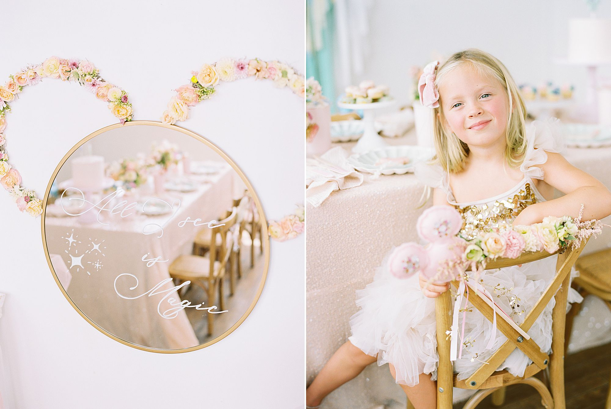 Vintage Disney Birthday Party for Princess Nora's Fourth Birthday - Featured on 100 Layer Cake - Ashley Baumgartner - Parker Grace Events_0018.jpg