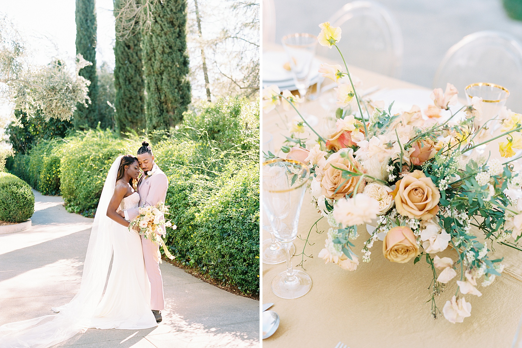 Park Winters Sacramento Wedding Inspiration with Sparkle and Dust Events  - Pantone Color of the Year Featured on Style Me Pretty_0014.jpg