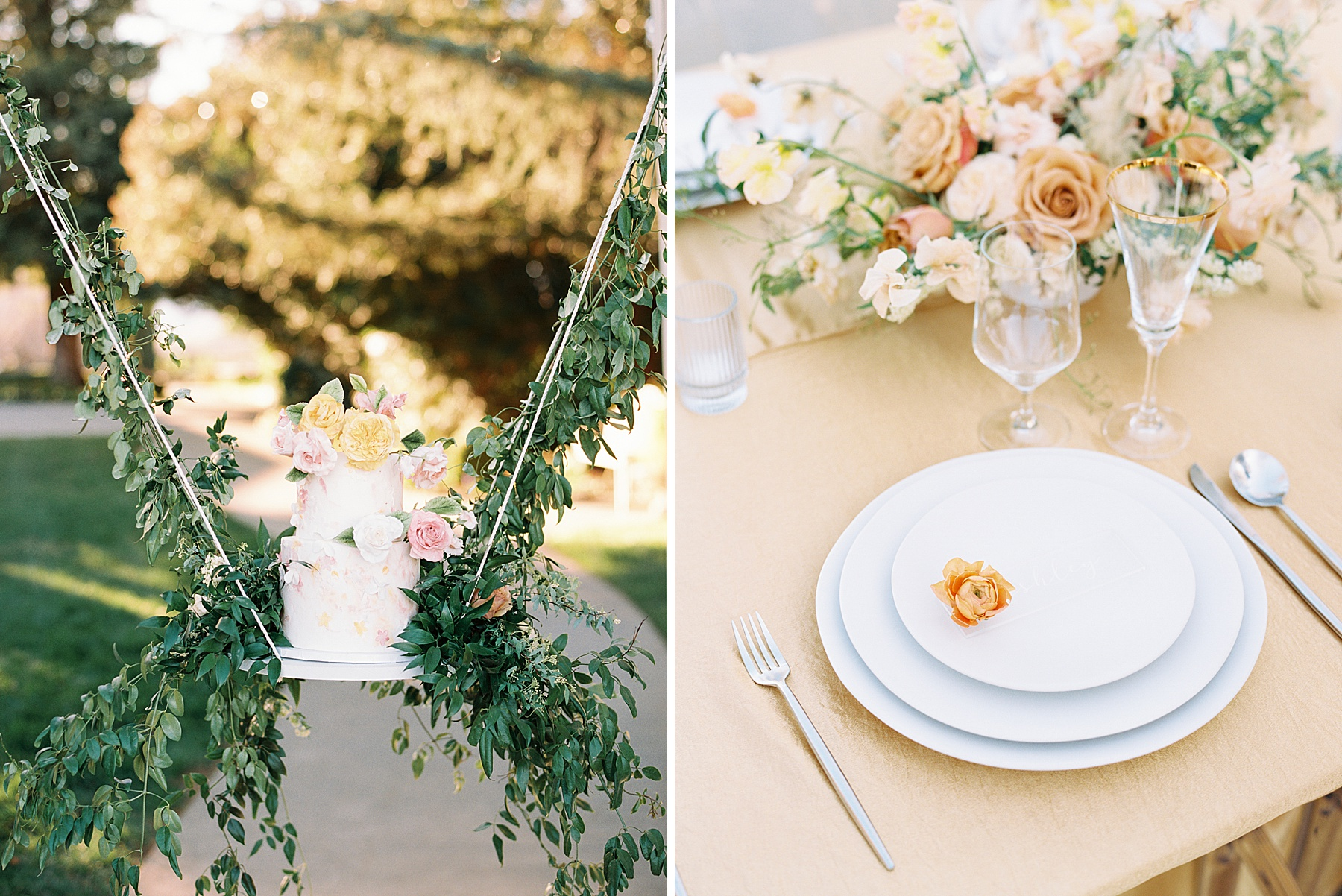 Park Winters Sacramento Wedding Inspiration with Sparkle and Dust Events  - Pantone Color of the Year Featured on Style Me Pretty_0036.jpg